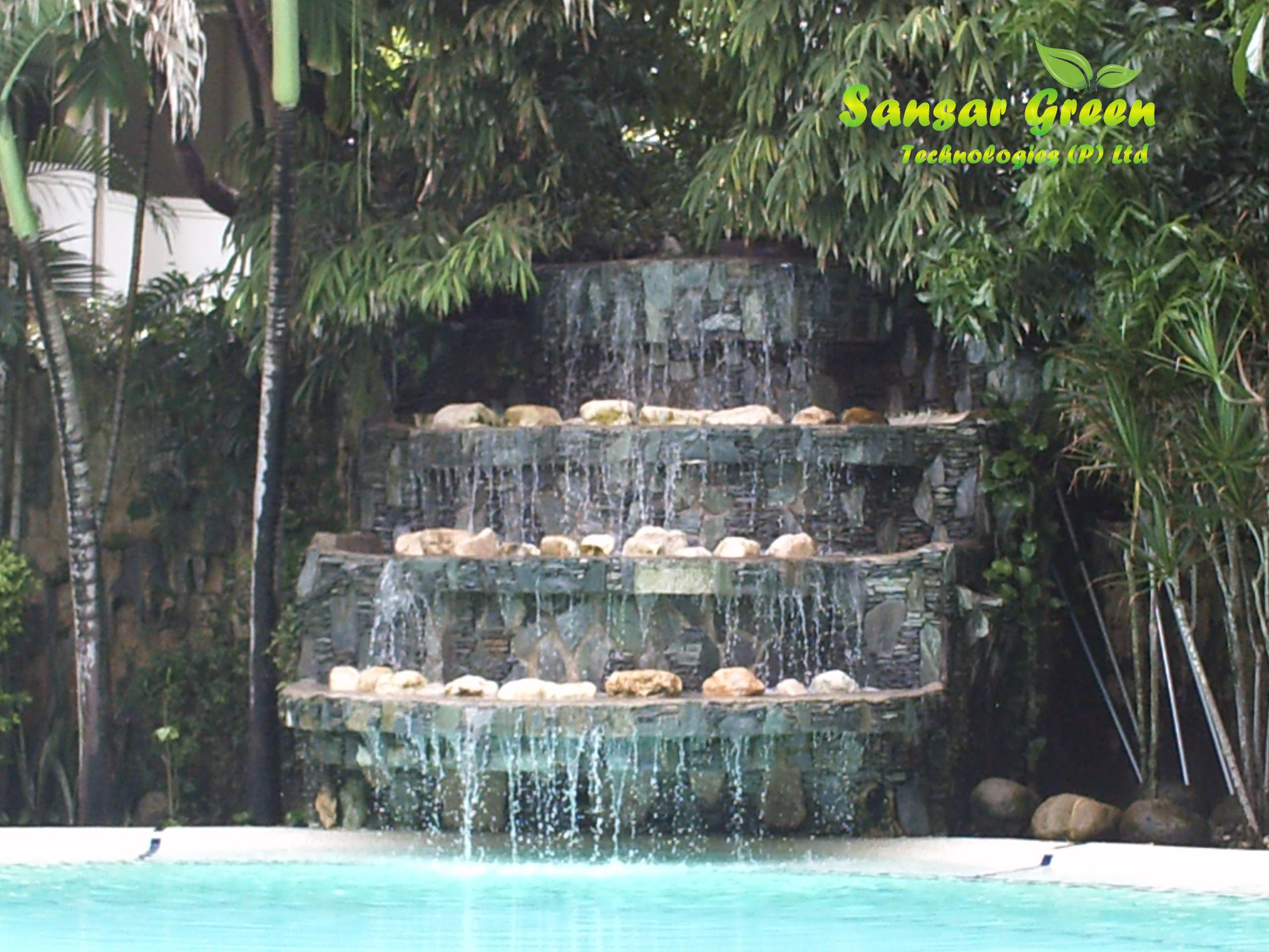 Sansar Fountain Waterfall