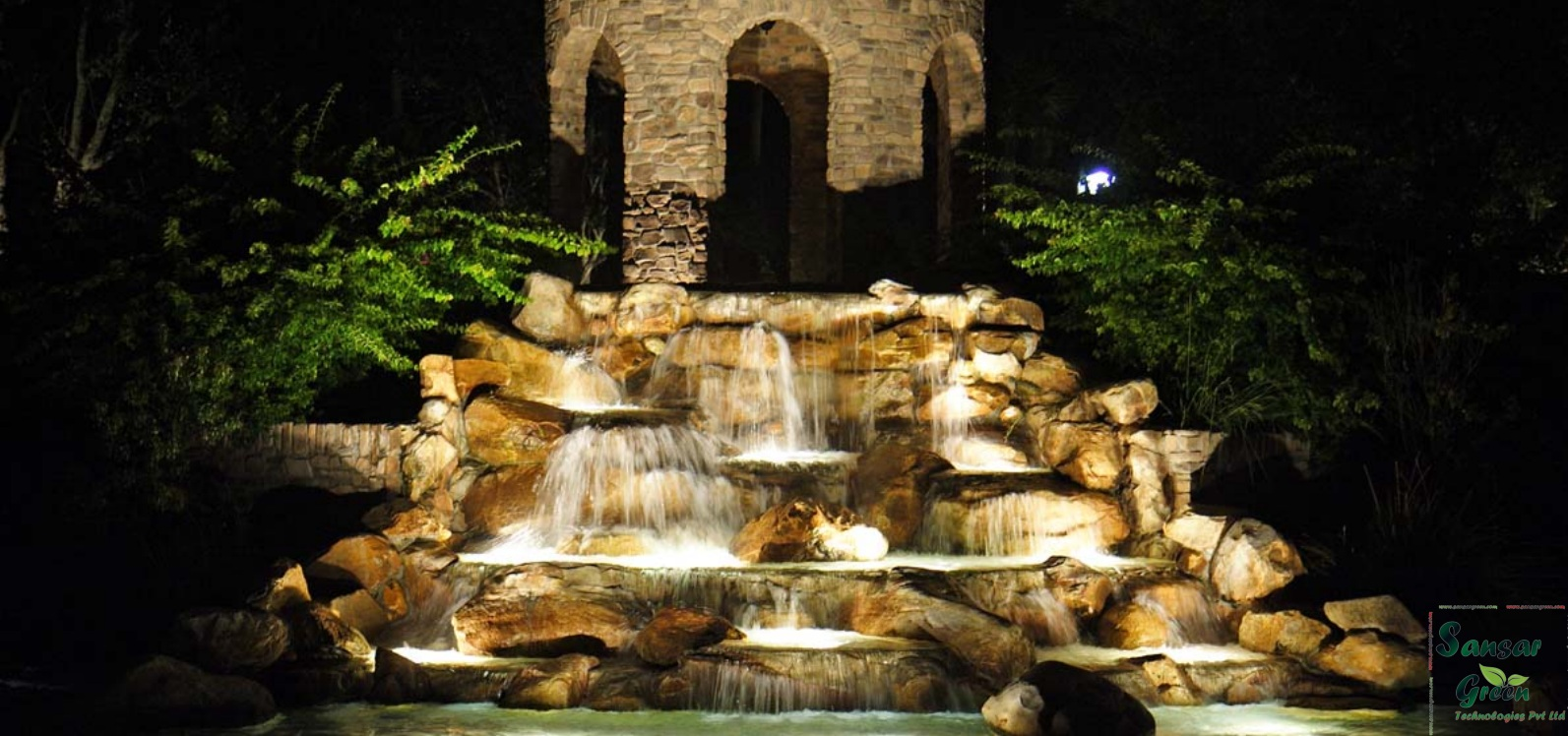 Waterfall Fountains