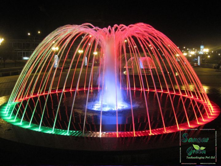 Dome Fountain manufacturer in India - Sansar Green Technologies