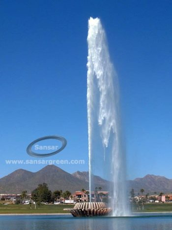 High Rise Floating Fountain manufacture in India sansar green technologies