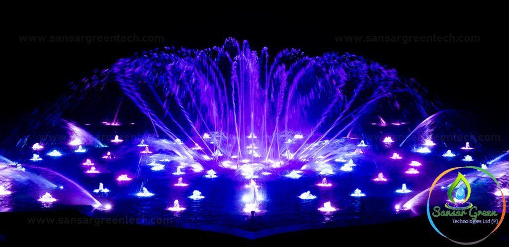 Dancing Fountain Manufacturer Sansar Green Technologies