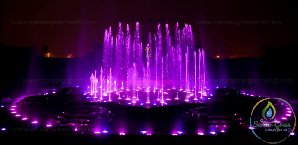 Dancing Fountains - Sansar Green Technologies - manufacturer in India