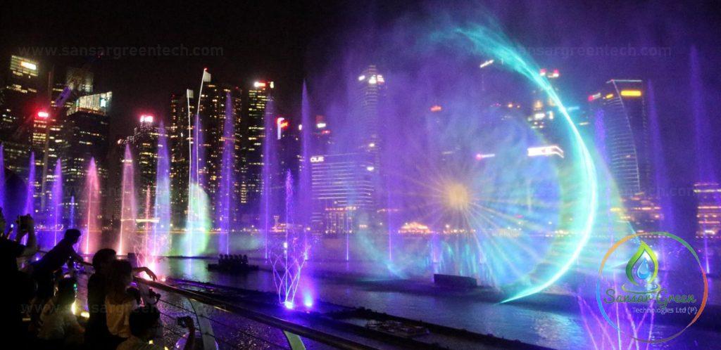 Water Sound Light Show