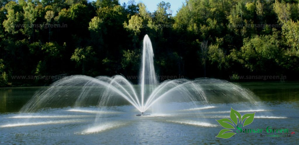 Wide Spread Floating Fountain manufacture in India