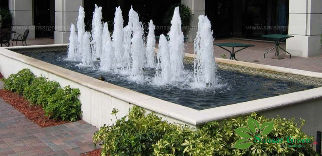 Geyser Fountain manufacturer in India - Sansar Green Technologies